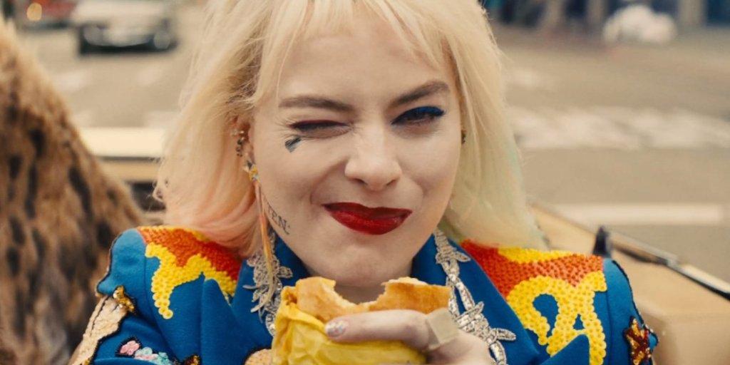 Birds of Prey's Harley Quinn and her egg sandwich