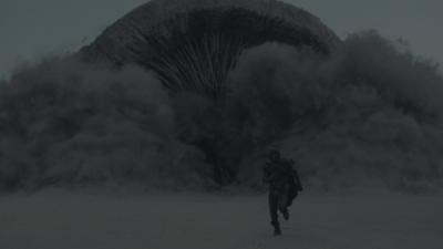 Dune Sandworm Emerges