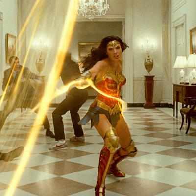Gal Gadot in White House of Wonder Woman 1984