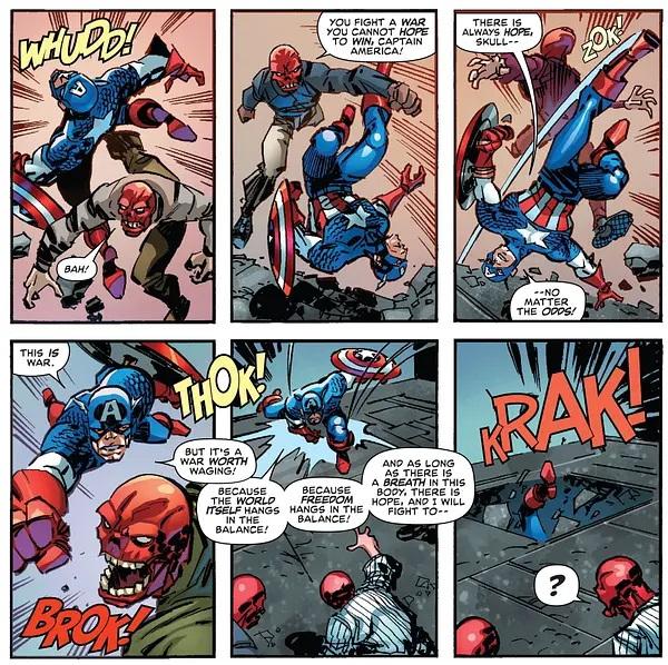 Captain America: The End by Erik Larsen