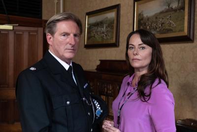 Ted Hastings and Gill Biggeloe in Line of Duty series 5