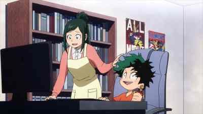 My Hero Academia Deku on Computer