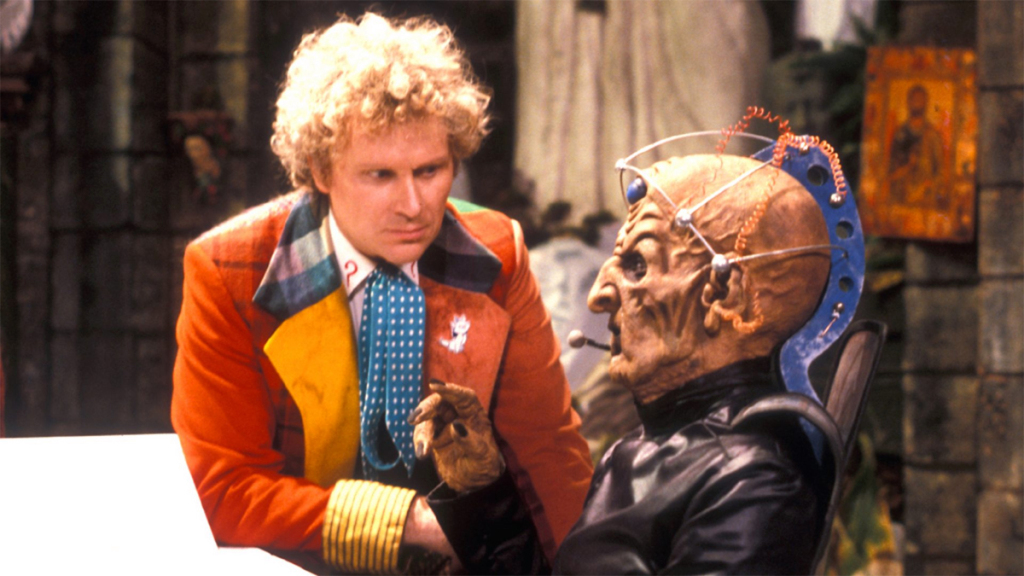 Doctor Who Revelation of the Daleks Colin Baker Davros
