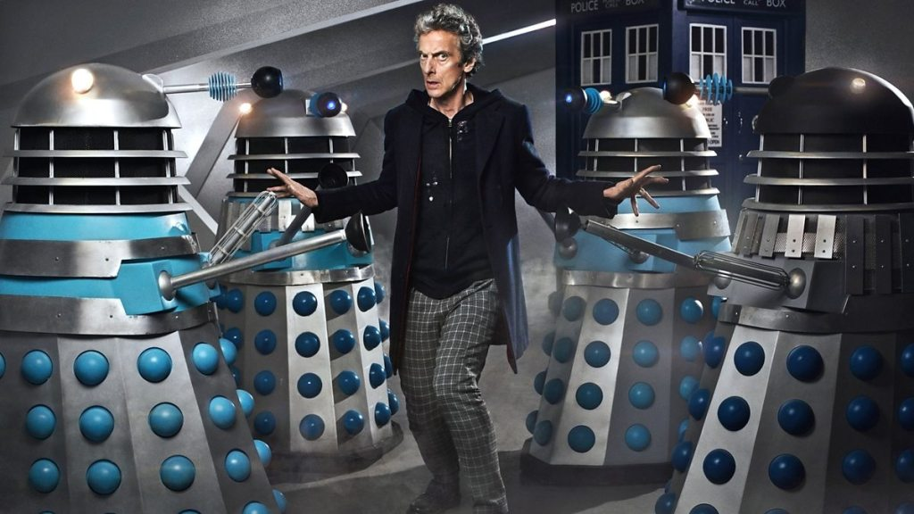 Doctor Who Peter Capaldi Daleks The Witch's Familiar