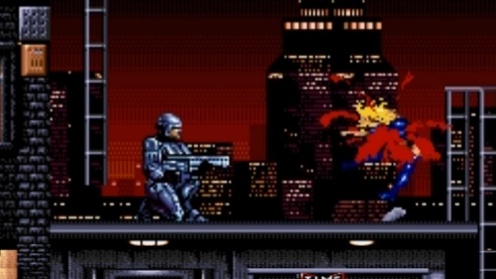 Robocop vs. The Terminator Sega Genesis