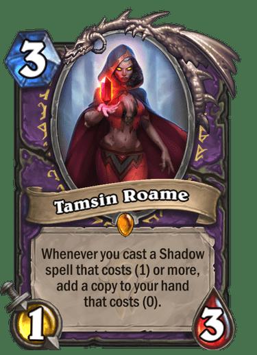 Tamsin Roame card art Hearthstone