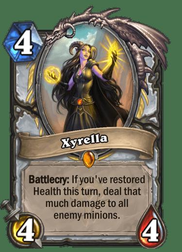 Xyrella card art Hearthstone