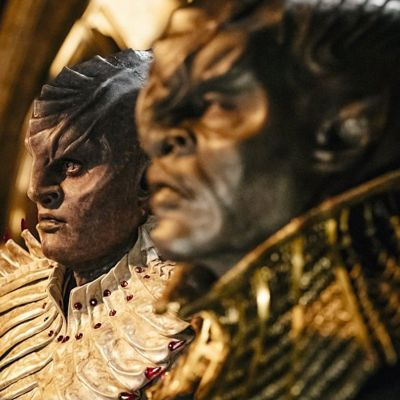 Two Klingons in Star Trek: Discovery