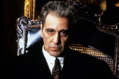 Al Pacino in The Godfather Coda The Death of Michael Corleone