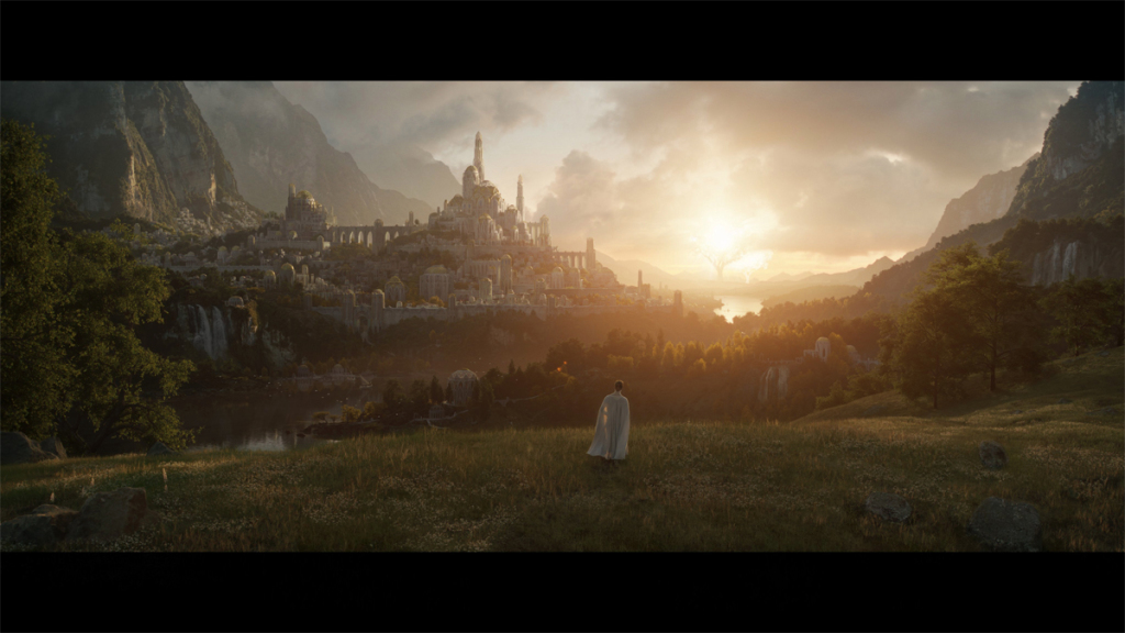 Valinor on Amazon's The Lord of the Rings series.