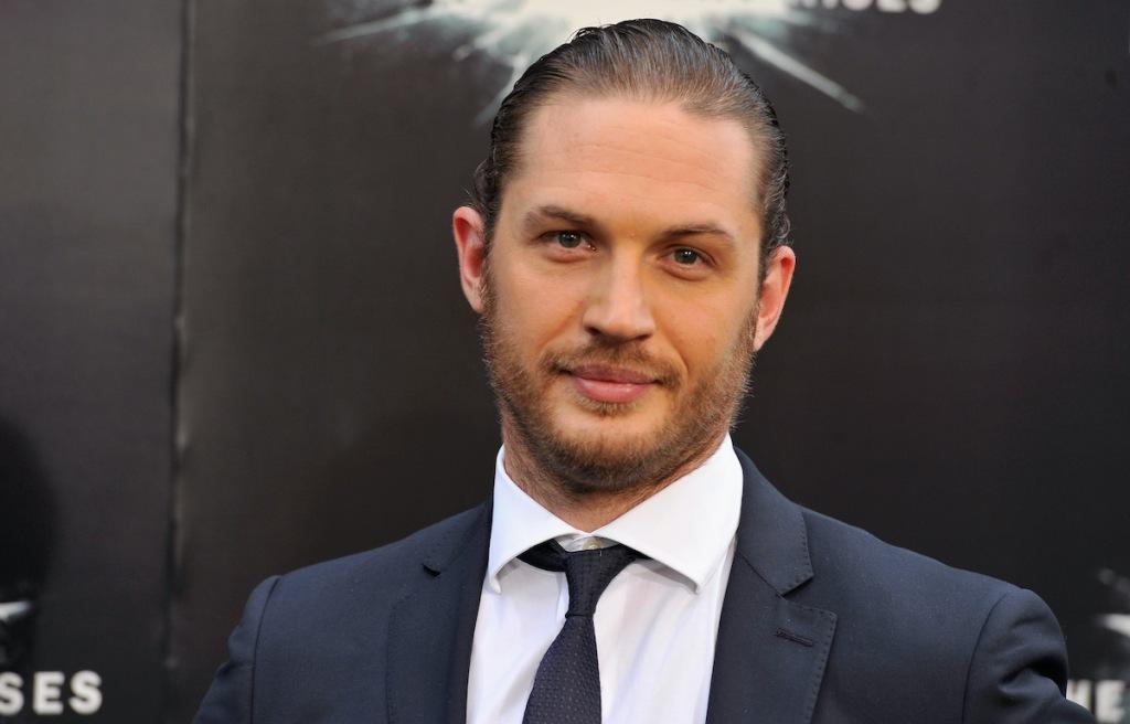 Tom Hardy at Dark Knight Rises Premiere
